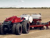 New Holland – Case IH Concept: Autonom arbeitender Traktor
