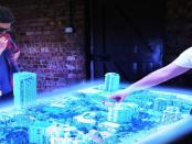 Holographie-Tisch: Ermöglicht acht verschiedenen Perspektiven