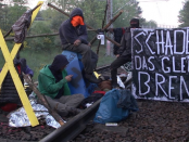 """Gewalt und Vandalismus prägen das Bild der umstrittenen Organisation: """"Ende Gelände"""""""