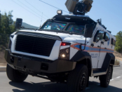 SandCat Stormer: Das gepanzerte Polizeifahrzeug
