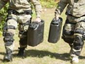 Knee Stress Release Device: Exoskelett für schwere Lasten