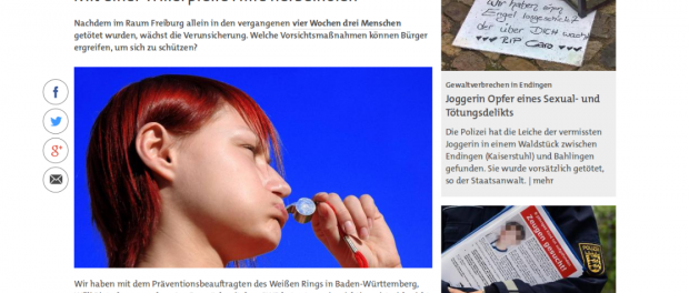 Screenshot swr.de