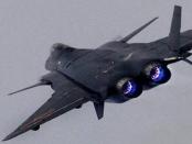 Der Chengdu J-20 Luftüberlegenheitsjäger