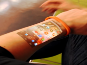 Das flexible Display unter der Haut