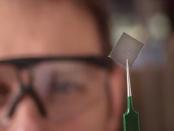 Die transparente elektrischleitfähige Polymerfolie