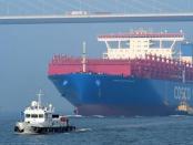 Das 20.000 Tonnen Containerschiff