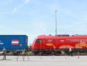 """""""Zug als Symbol für die Zusammenarbeit zwischen China und Österreich"""""""