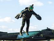 Der Daedalus-Fluganzug: Fliegen mit Strahltriebwerken