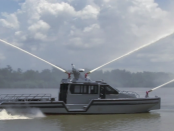 Metall Shark: Das moderne Feuerlöschboot