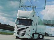 Wie Oberleitungs-Lkw zukünftig Güter transportieren könnten