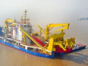 Tian Kun Hao: Eines der größten Baggerschiffe der Welt