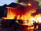 Warum viele Häuser bei einen Feuer zur Todesfalle werden