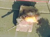 Der Einsatz von kleinen zivilen Drohnen gegen schwere Kampfpanzer