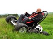 HexHog: Der motorisierter Rollstuhl für unwegsames Gelände
