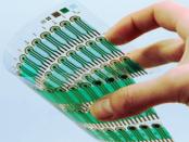 Der gedruckte elektronische Schaltkreis