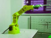 Raspberry Pi: Der gelenkige Roboterarm
