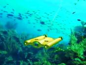 Gladius: Kabelbundene Unterwasserdrohne für Aufnahmen bis zu 100 Metern Tiefe