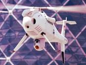 """Camcopter S-100: """"200 Kilogramm wiegt der unbemannte Hubschrauber"""""""