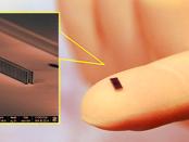 Der Teilchenbeschleuniger auf einen winzigen Mikrochip