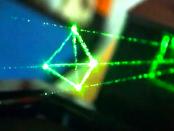 Holovect: 3-D Grafiken erzeugen ohne Projektionsfläche
