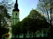 """Cunewalde: """"2632 Sitzplätzen und 3 Emporen ist sie die größte Dorfkirche Deutschlands"""""""