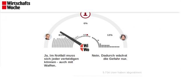 Screenshot wiwo.de