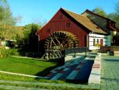 """Spreewehrmühle Cottbus: """"Wasserrad an einem großen Flusse als wohl einmalig"""""""