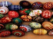 Das Verzieren von Ostereiern in der Sorbischen Lausitz