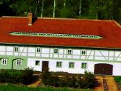 """Umgebindehäuser als Resultat: """"Klimatischen Bedingungen in der Lausitz und im böhmischen Mittelgebirge"""""""
