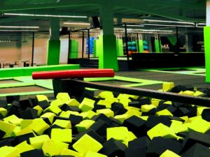 Screenshot trampolinpark-lausitz.de