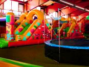 Kindertobeland in Jonsdorf: Die kindgerechte Spielhalle