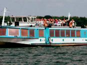 Santa Barbara: Mit dem Fahrgastschiff auf den Lausitzer Seen