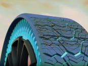 Michelin Uptis: Der unplattbare Reifen
