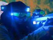 Das Laserschießkinos in der Lausitz
