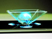 Das Holografische Display auf dem Smartphone