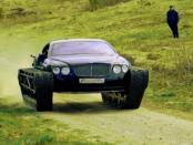 """""""Ein Bentley - in einen Panzer umgebaut"""""""