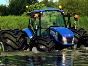 Warum Traktoren schwimmen können