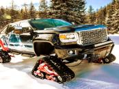 GMC Sierra All Mountain: Geländewaagen mit Kettenantrieb