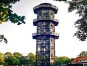 """Turm auf dem Löbauer Berg: """"Eisengießerkunst des 19. Jahrhunderts"""""""