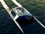 Glider SS18: Yacht mit 103 km/h Spitzengeschwindigkeit