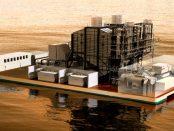 Warum schwimmende Kraftwerk zahlreiche Vorteile haben