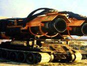 """Big Wind: """"Zwei riesige Triebwerke - montiert sind sie auf einem Panzerfahrgestell"""""""