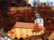 Die beliebte Bergkirche zu Oybin