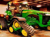 """John Deer - 8RX: """"Wenn Sie den Boden möglichst wenig belasten möchten"""""""