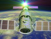Weltall: Die chinesische Raumstation