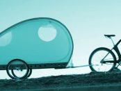Bicycle-Camper - Wohnwaagen als Fahrradanhänger