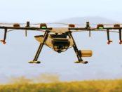 Drohnen zum großflächigen Auftragen von Desinfektionsmittel
