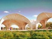 3D-Druck - Der begehbarer Pavillon aus Kunststoffabfällen