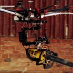 """""""Drohne mit der Kettensäge"""""""