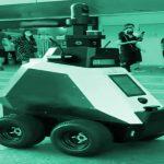 Xavier - Der patrouillierende Polizeiroboter auf vier Rädern